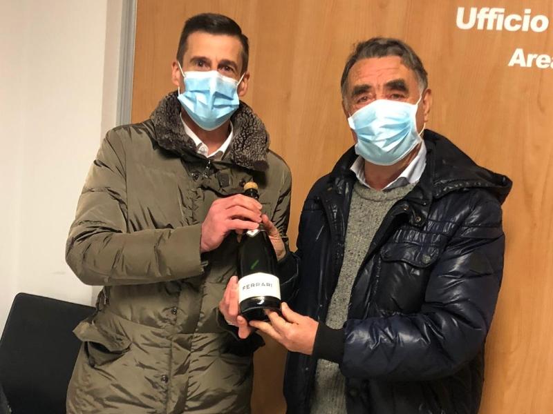 neo Presidente Giuseppe De Santis e il Presidente uscente Fulvio Chiantini